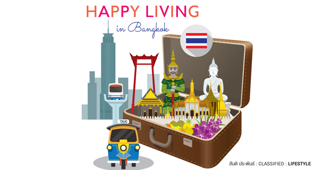 happy living in bangkok